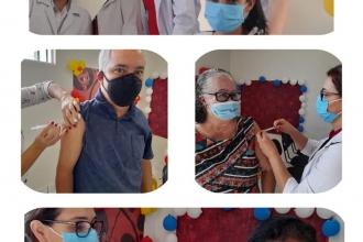 23º Campanha de Vacinação contra a Gripe(Influenza) em Vale de São Domingos e Comunidades