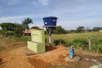 Ativação do Segundo Poço Semi Artesiano no Distrito de Adrianópolis