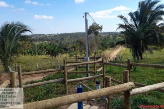 Ativação do Terceiro Poço Semi Artesiano no Distrito de Adrianópolis
