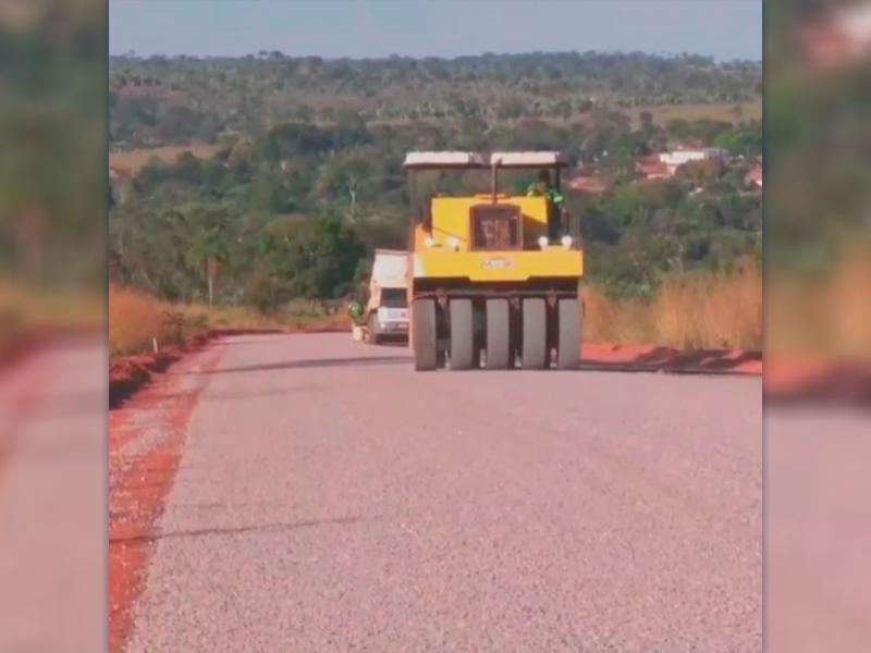 Gestão confirma pavimentação de mais de 13 km em Vale de São Domingos