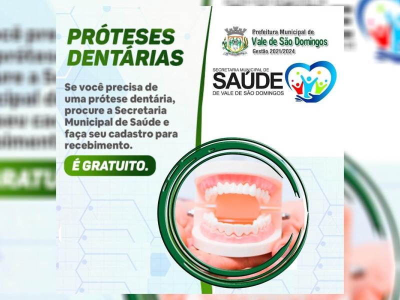 Secretaria Municipal de Saúde proporcionando melhor saúde bucal para a população